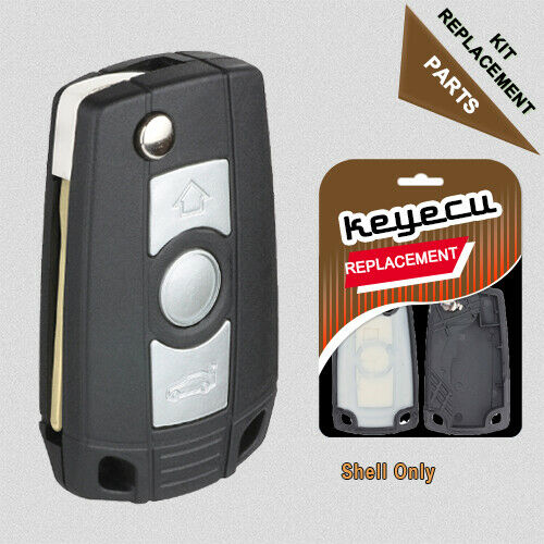Folding Flip Remote Key Case Fob Refit Bmw 3 5 7 Series Z3
