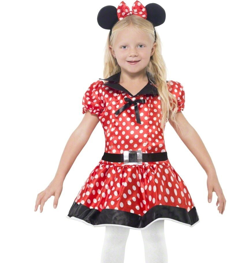 childrens fancy dress mini cute mouse costume girls outfit. Black Bedroom Furniture Sets. Home Design Ideas