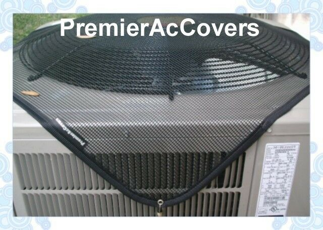 Central Air Conditioner Cover Premieraccovers Summer Top Ac Cover 40x30 Blk Ebay