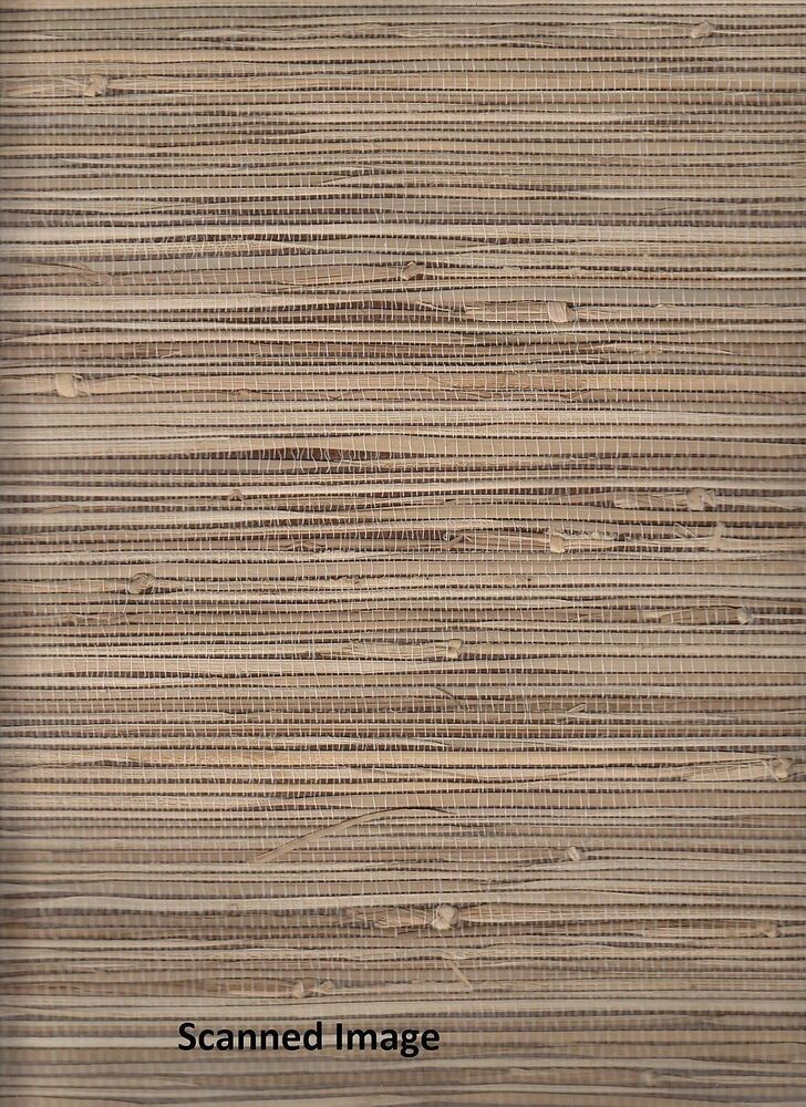 89472 2661 11 natural grasscloth wallpaper chestnut brown for Self stick grasscloth wallpaper