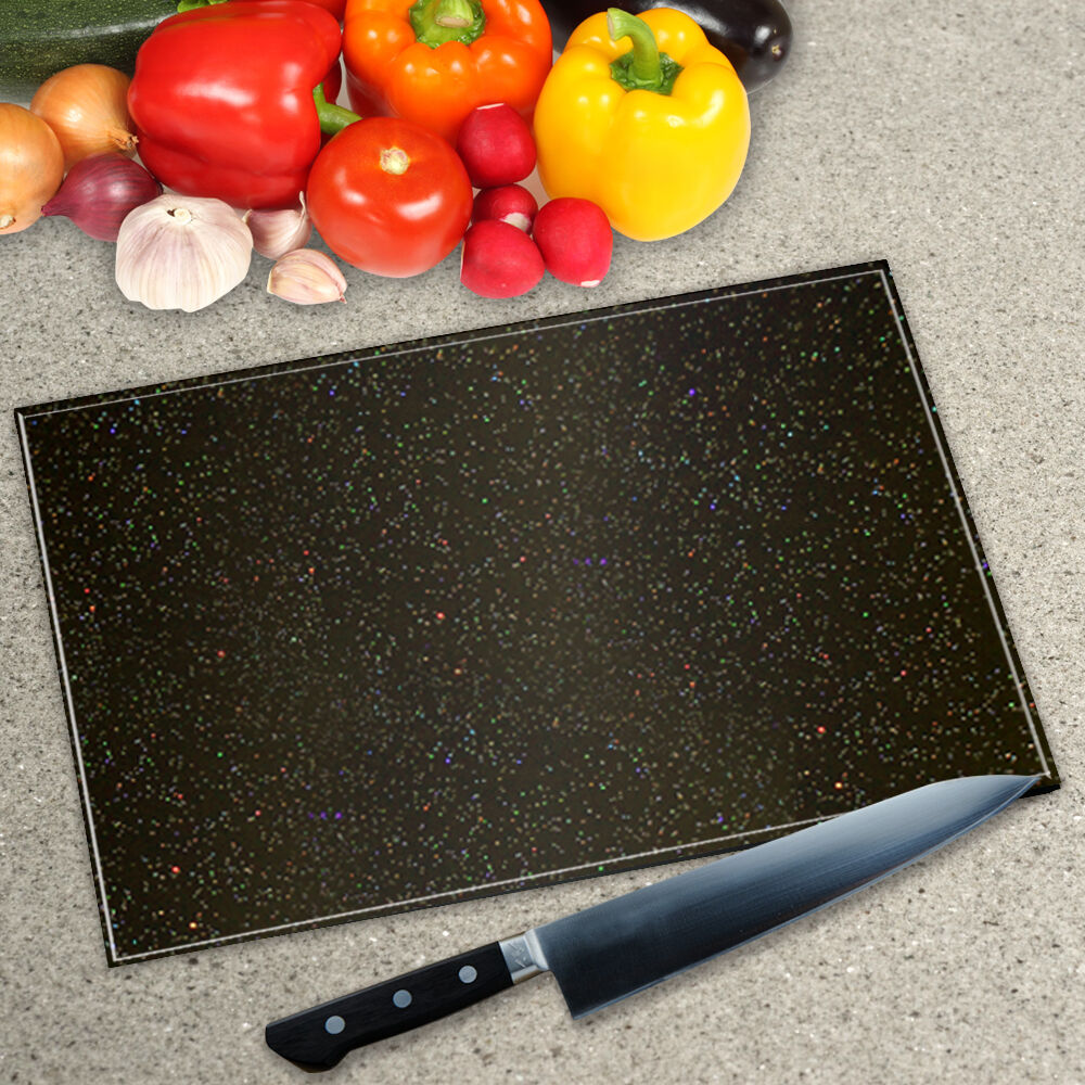 black granite galaxy glass worktop saver chopping board. Black Bedroom Furniture Sets. Home Design Ideas