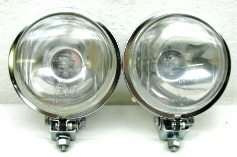4 5 quot CHROME METAL HOUSING 55 WATT HALOGEN DRIVING SPOT