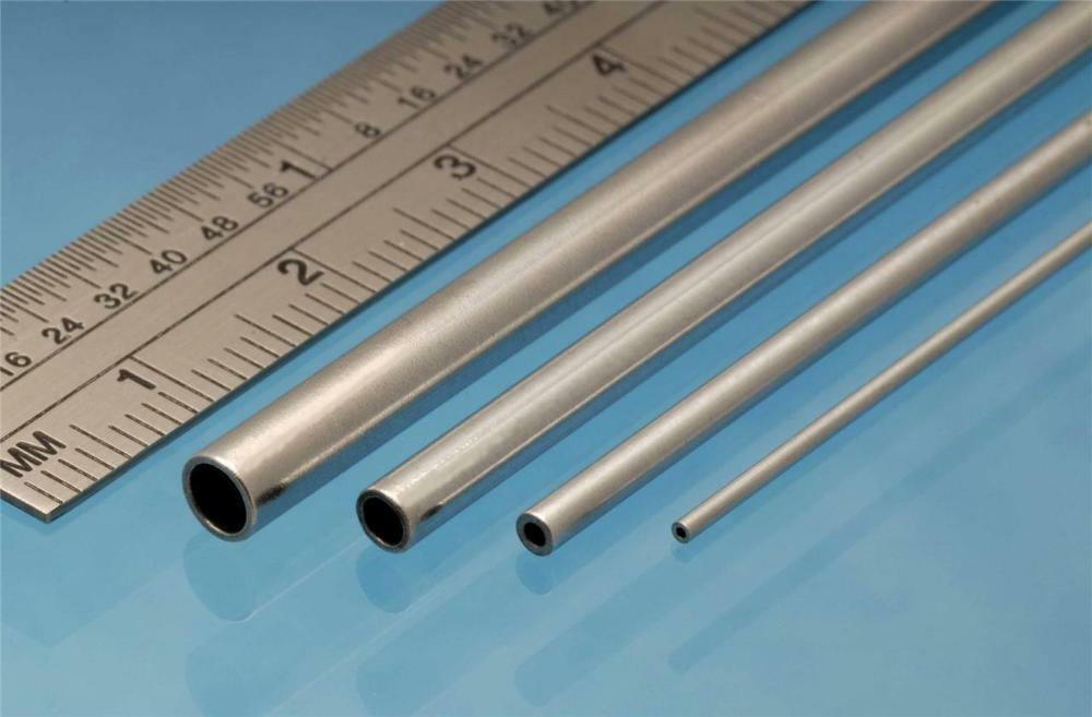 albion alloys aluminium tube 3 mm od x 2 1 mm id x mm wall pack of 4 ebay. Black Bedroom Furniture Sets. Home Design Ideas