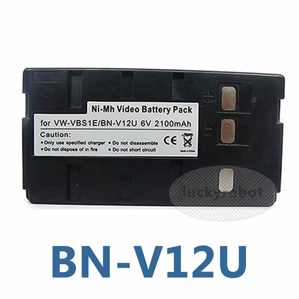 Battery For Jvc Bnv12u Bnv14u Bnv22u Compact Super Vhs Camcorder Gr