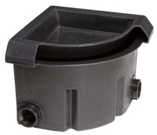 Pondbuilder corner falls box waterfall spillway pond water for Small pond filter box