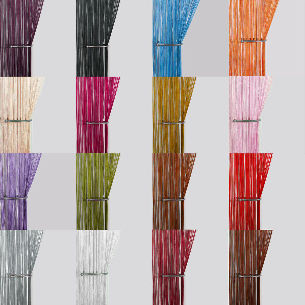 string curtain panels door fly screen room divider