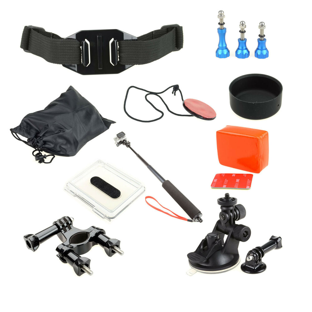 gopro mounts accessories for gopro hero 2 3 camera ebay. Black Bedroom Furniture Sets. Home Design Ideas