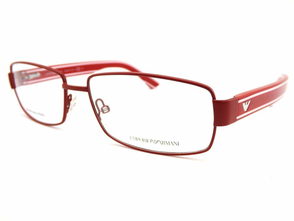 Armani Reading Glasses Frames : EMPORIO ARMANI mens metal reading glasses EA9658 QM6 55 ...