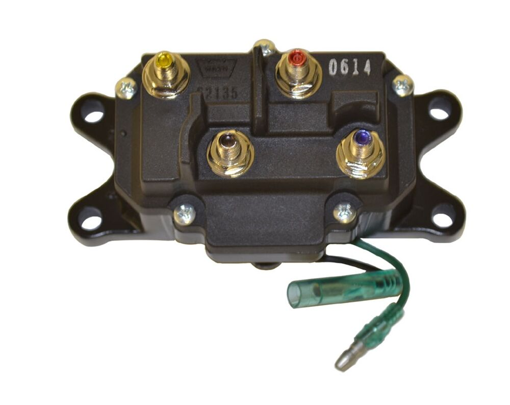 Warn 63070 winch contactor replacement for and Warn winch replacement motor