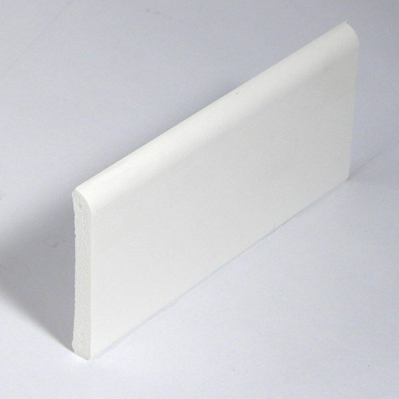 White window door plastic upvc pvc trim 45mm skirting for Window plastic