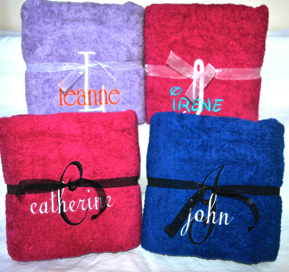 New Personalized Monogrammed Beach/Pool Towel -Free