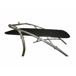 Kyпить Universal Wakeboard Tower Mounted Flat Cargo Bimini Top Cover - Canvas Frame на еВаy.соm