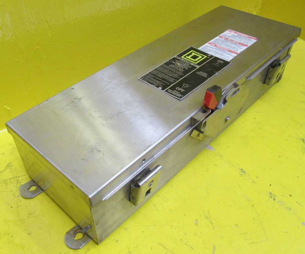 Square D Ka225ds Stainless Steel Breaker Enclosure Type 3