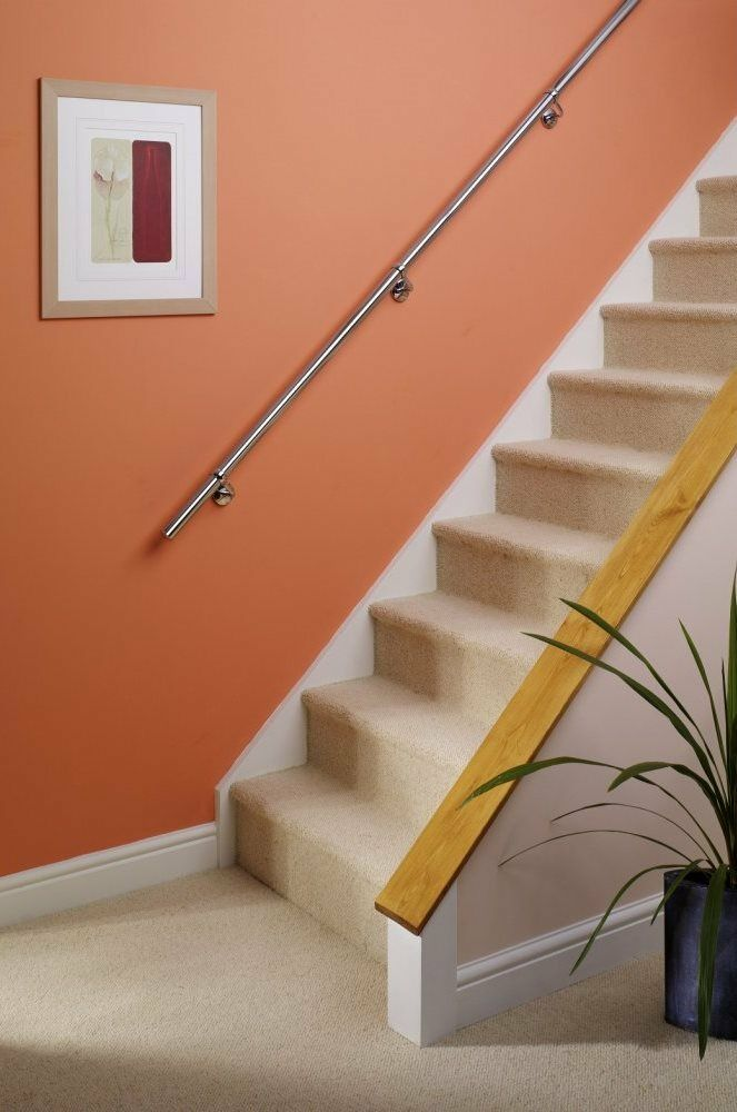 Stairs Staircase Handrail Banister Rail Support Kit 3 6m