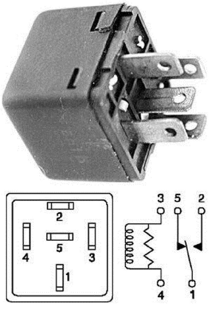 1998 ford escort blower relay location