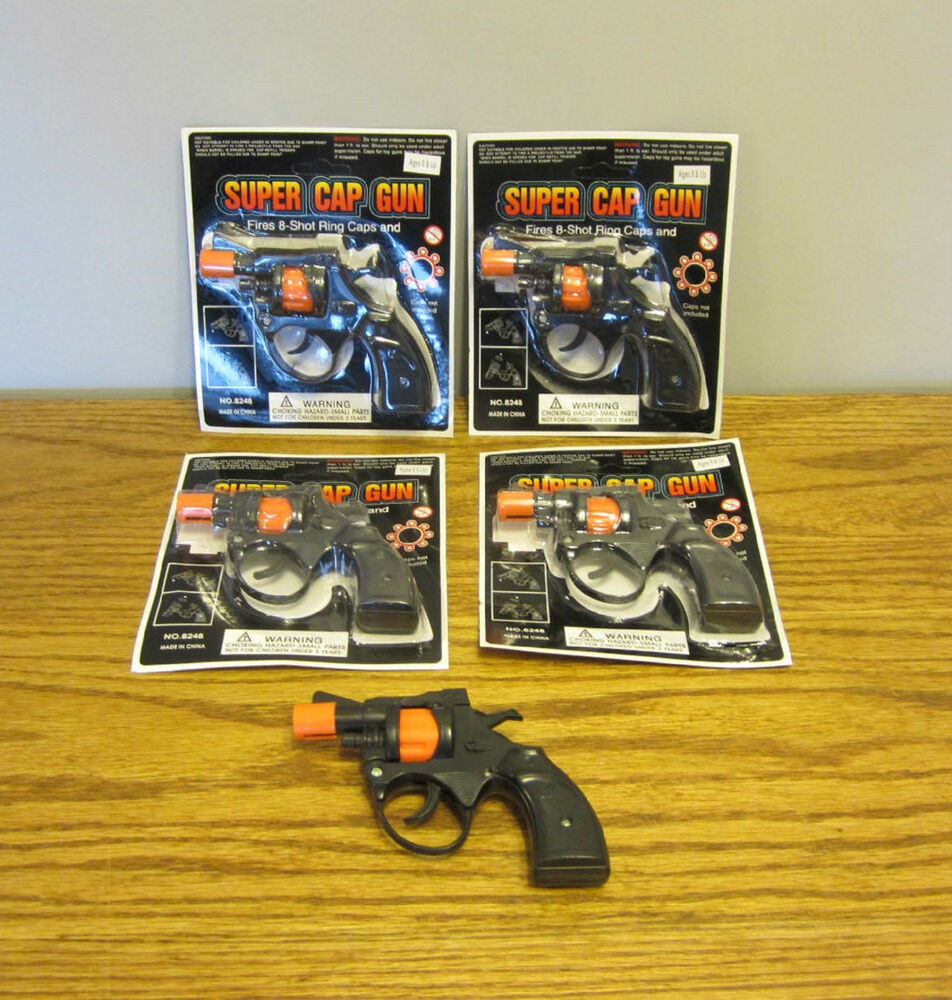 Toys For Caps : New super cap guns toy pistol handgun fires shot ring
