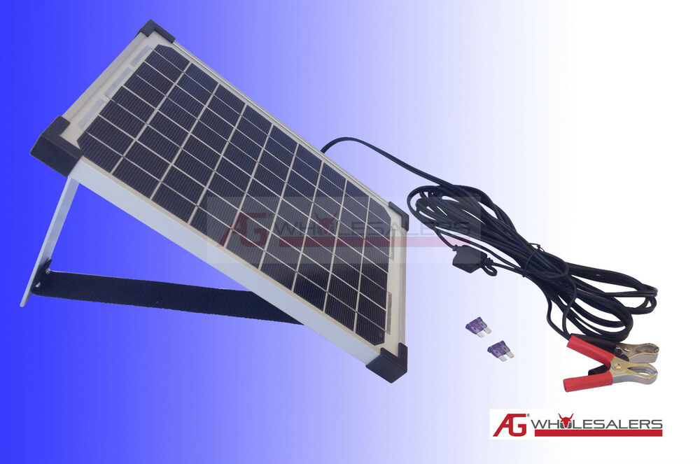 Best Solar Panel Car Battery Charger