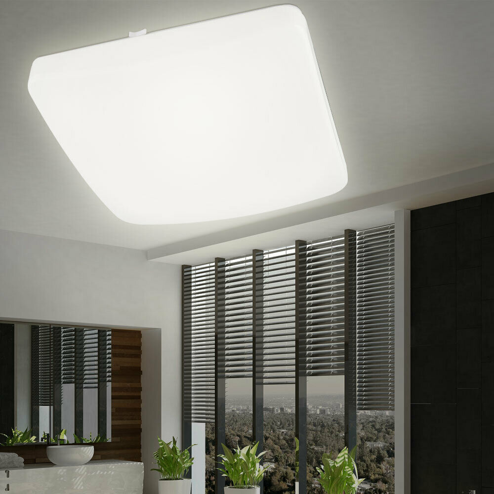 extrem helle 20 watt led decken leuchte wand lampe bad flur k chen licht b ro ebay. Black Bedroom Furniture Sets. Home Design Ideas