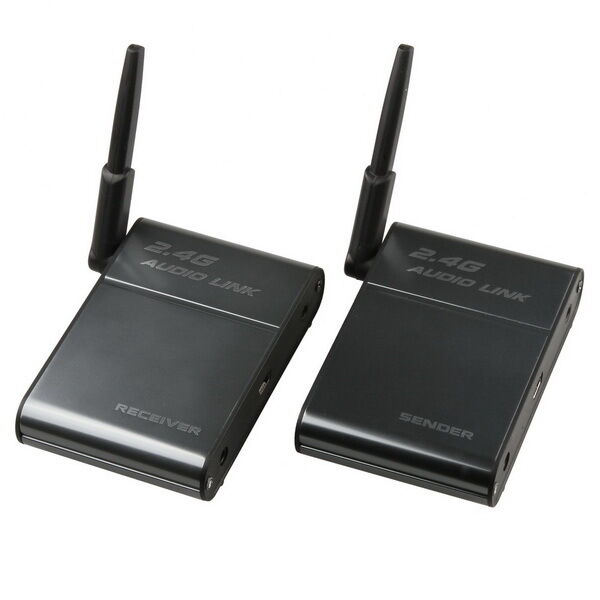 Wireless Transmitters And Receivers: 2.4G 2.4GHz Universal Stereo Wireless Audio Transmitter