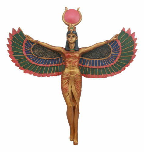 Ancient egyptian sculpture warrior goddess isis home decor for Ancient egyptian decoration
