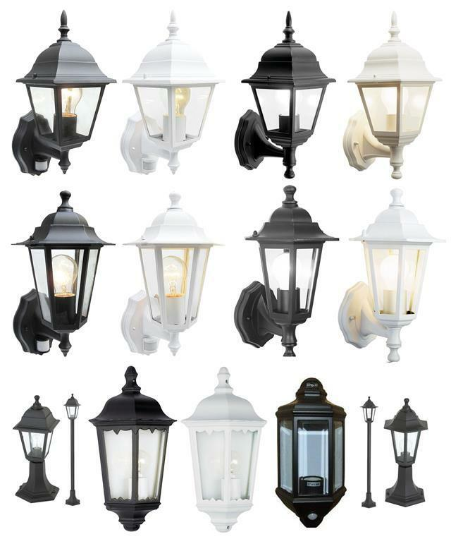 wall lights lanterns outdoor lights exterior garden light ebay