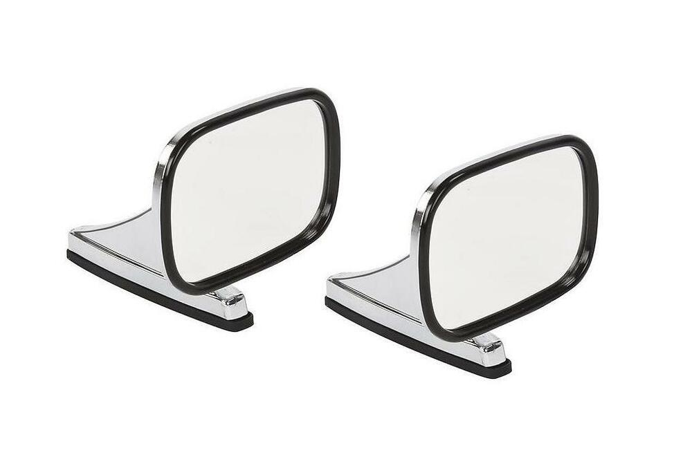 Mirror Classic Chrome Pair Side View Door Hot Rod Truck