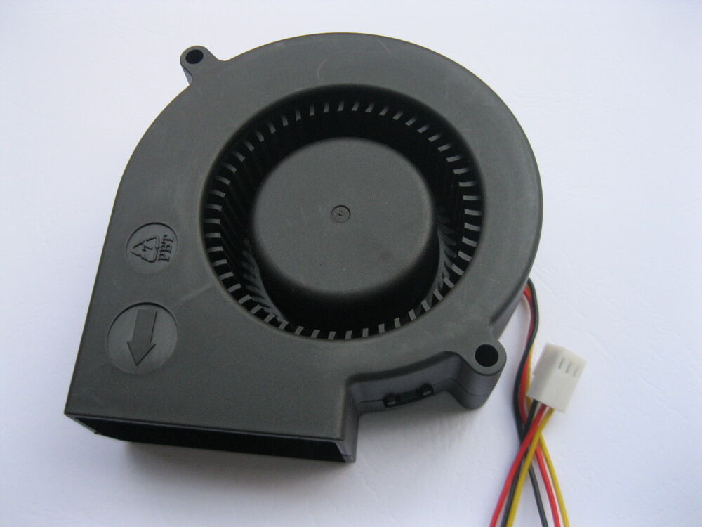 Dc Blower Fan : Pcs brushless dc cooling blower fan s v wires ebay