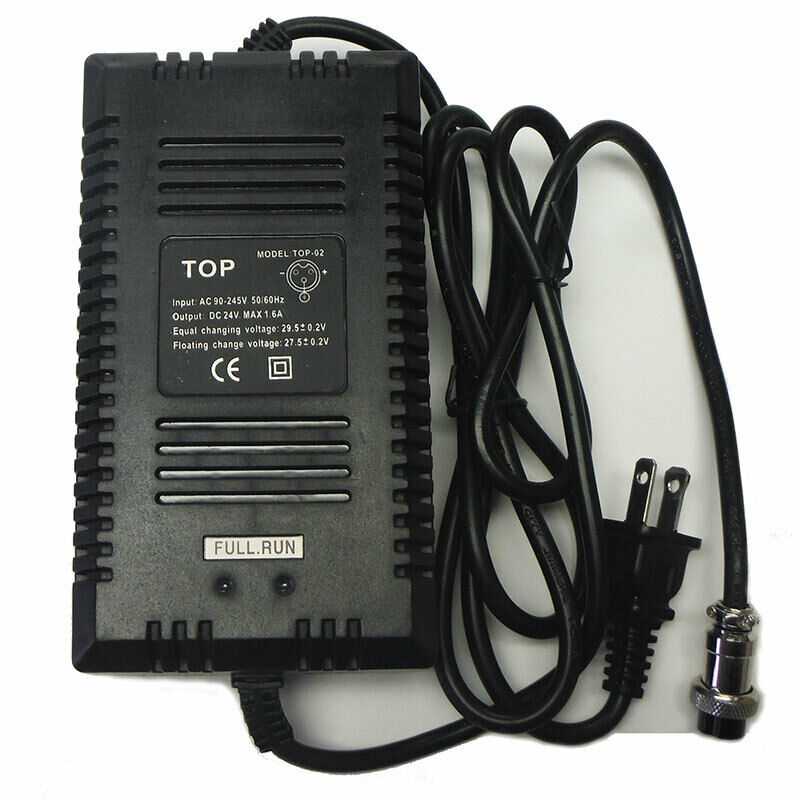24v Battery Charger For Razor Mx350 M400 Dirt Rocket Bike