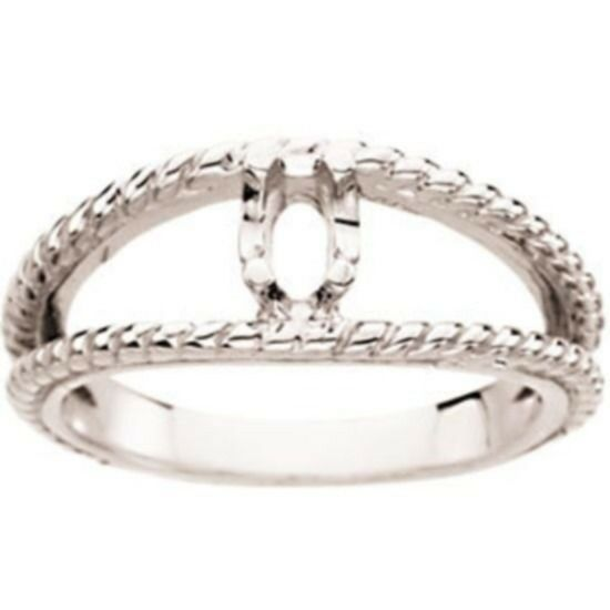custom made one mothers ring in 14kt white gold