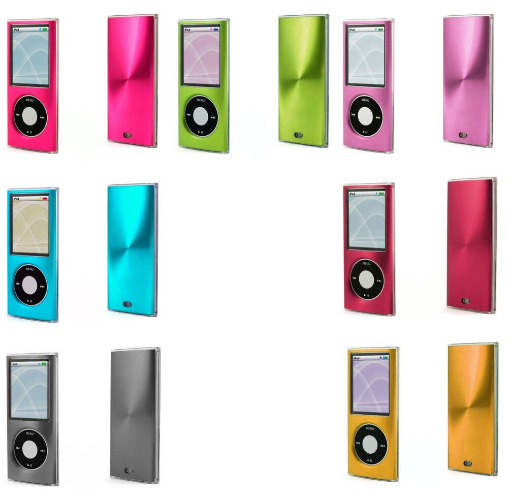 apple ipod nano 4th gen 2 piece snap on hard case cover. Black Bedroom Furniture Sets. Home Design Ideas