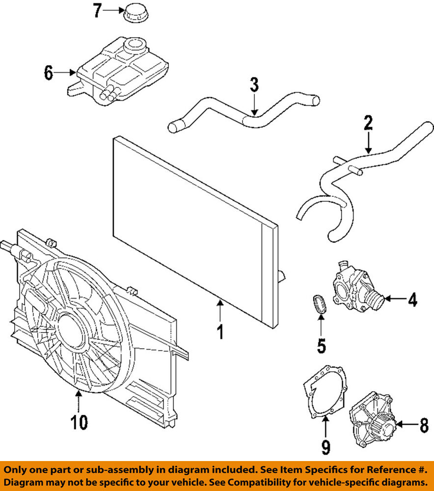 00 Volvo S40 Engine Diagram Free Wiring For You 2000 Harness Oem 05 11 Radiator Upper Hose 30723082 Ebay Parts Compartment