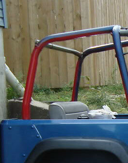 S L on International Scout Roll Cage