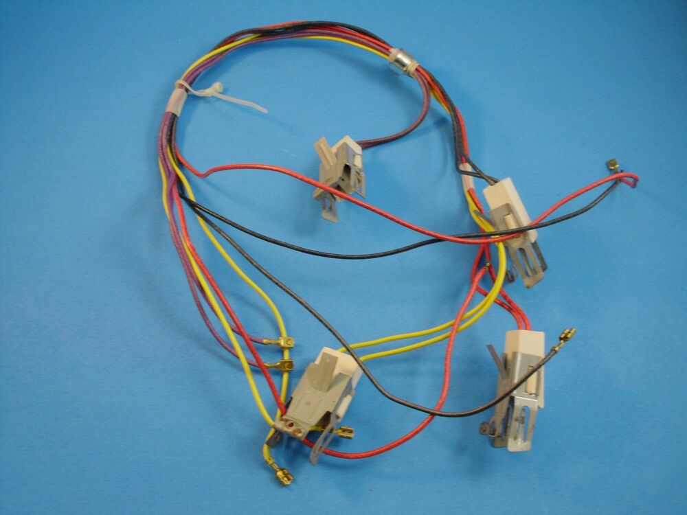 oem maytag oven range wire terminal harness kit 12001323 ebay
