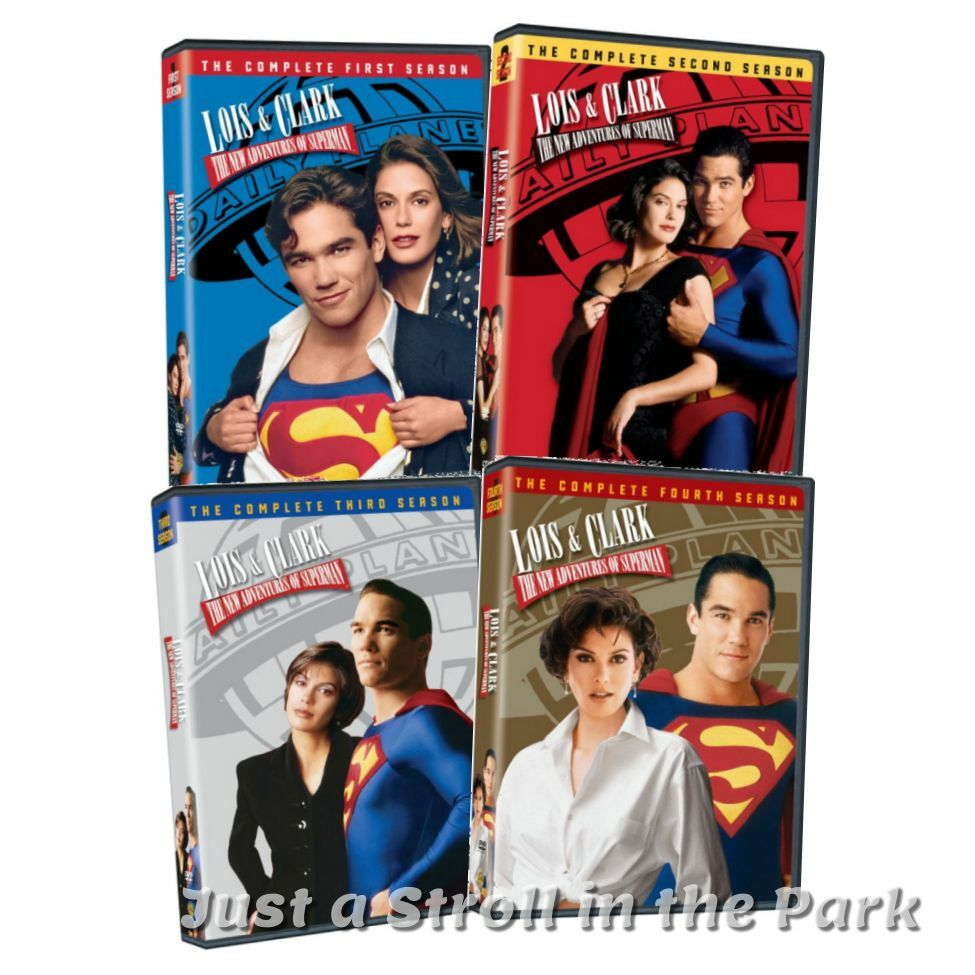 Lois Amp Clark The New Adventures Of Superman Complete