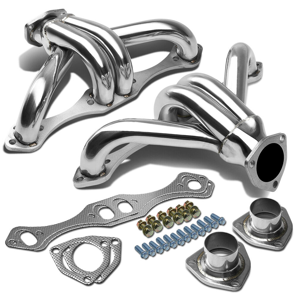 GM CHEVY SMALL BLOCK HUGGER 283 305 327 350 400 STAINLESS