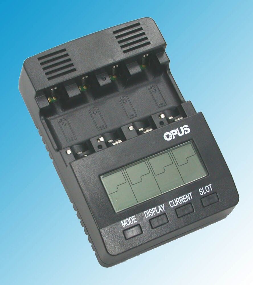 2 Battery Tester : Us v bt c battery charger analyzer tester nimh nicd