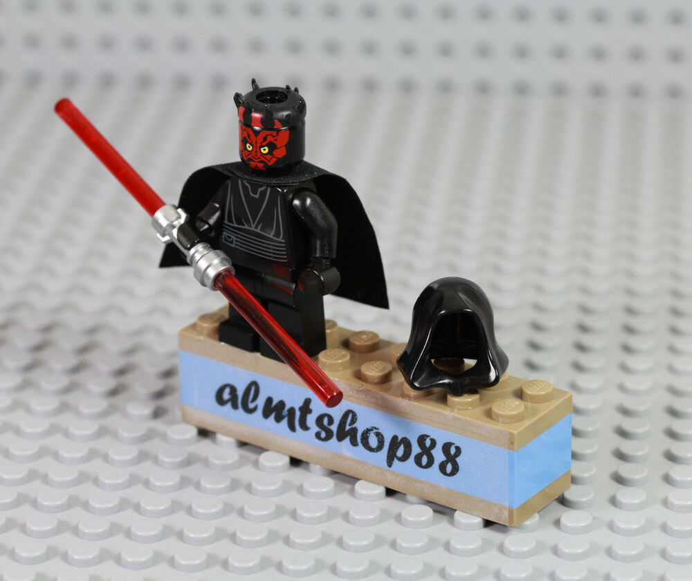 LEGO Star Wars - Darth Maul Sith Lord Minifigure Dual ...