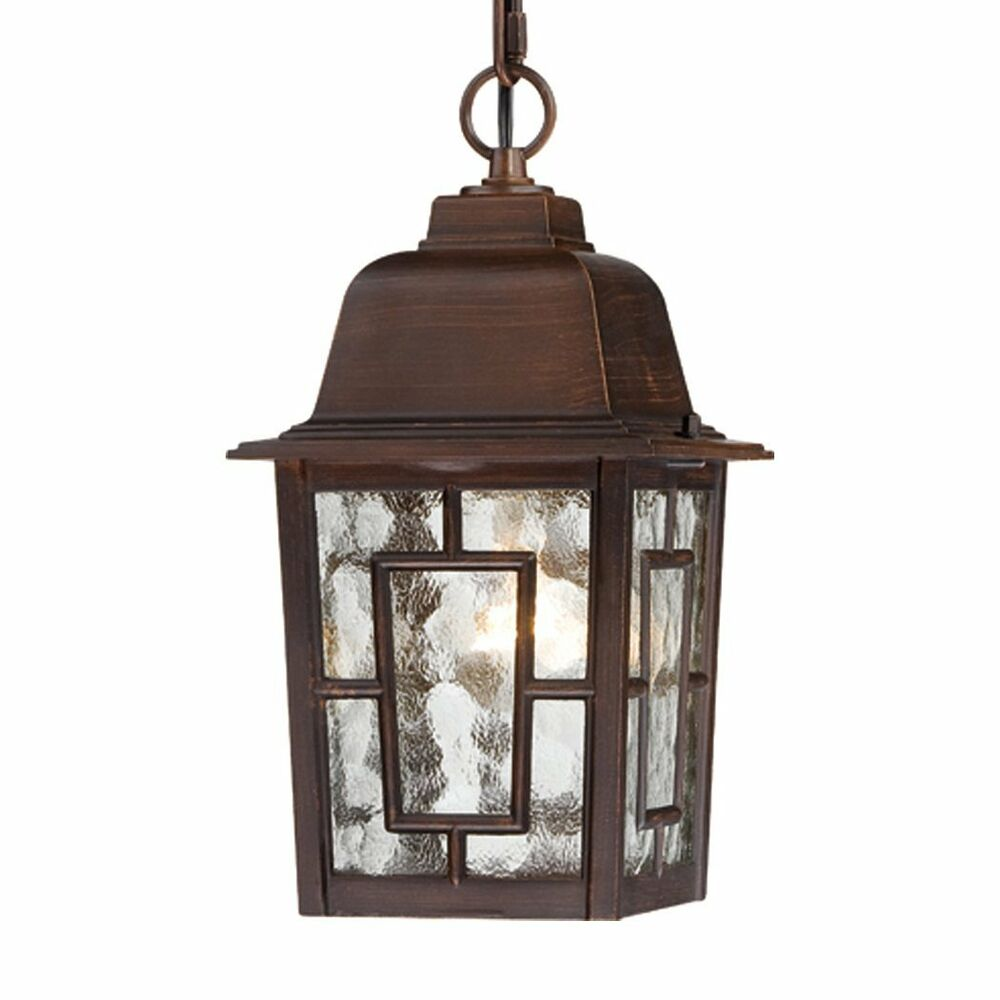 Porch Light Pendant: Nuvo Lighting 60-4932 Banyan 1 Light 11-in Hanging Outdoor