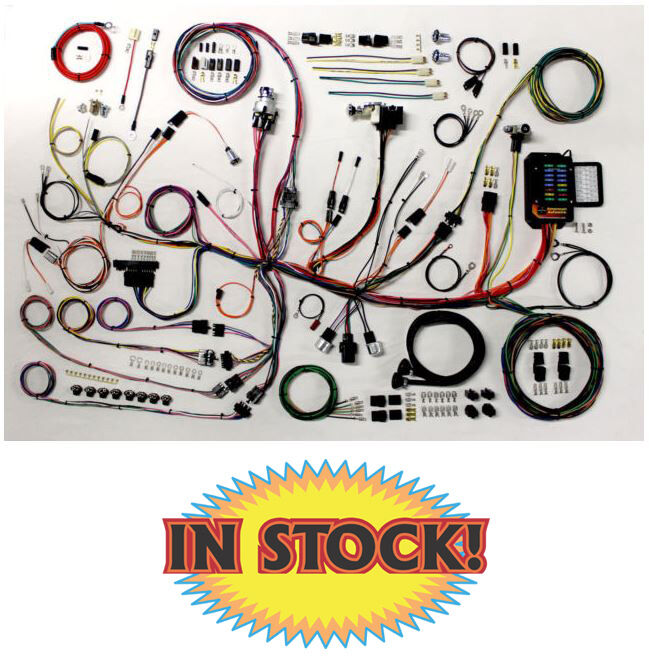 diagram wiring harness kits for cars old american autowire 1953-62 corvette wiring harness kit ...