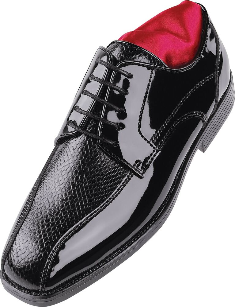 s after six a6048 tuxedo formal dress shoes black
