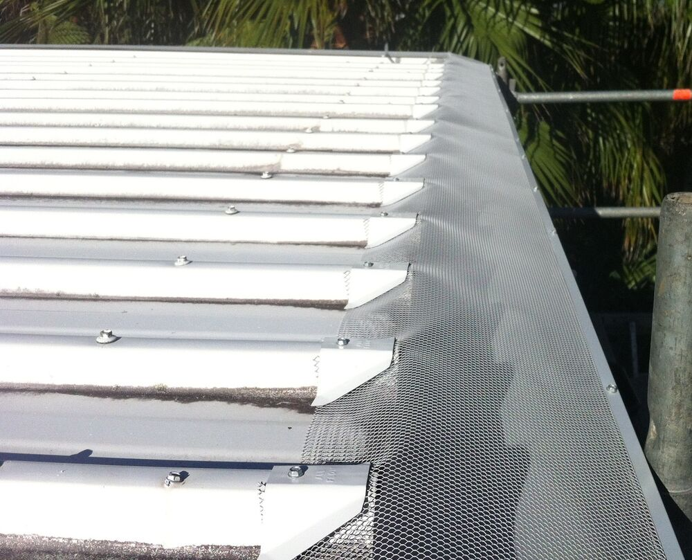 Diy Poly Gutter Guard Complete Package To Suit Trim Deck