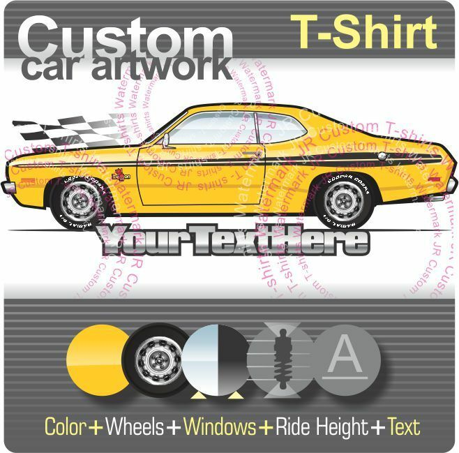 custom t shirt for 1971 71 1972 72 dodge dart demon. Black Bedroom Furniture Sets. Home Design Ideas
