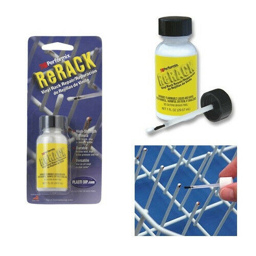Performix Rerack White Vinyl Dishwasher Rack Repair 1oz