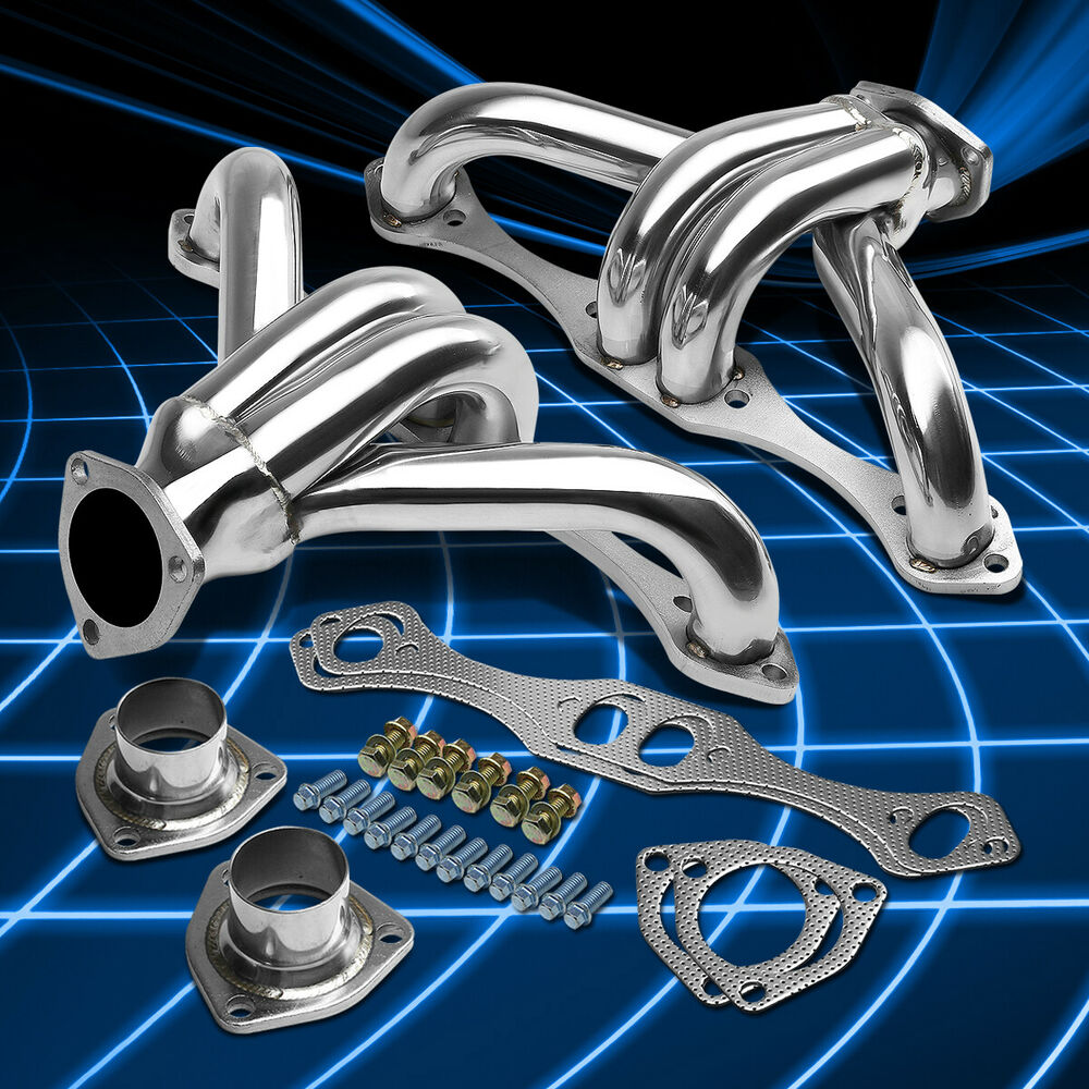 STAINLESS STEEL SS SPORT EXHAUST HEADER SBC CHEVY SMALL