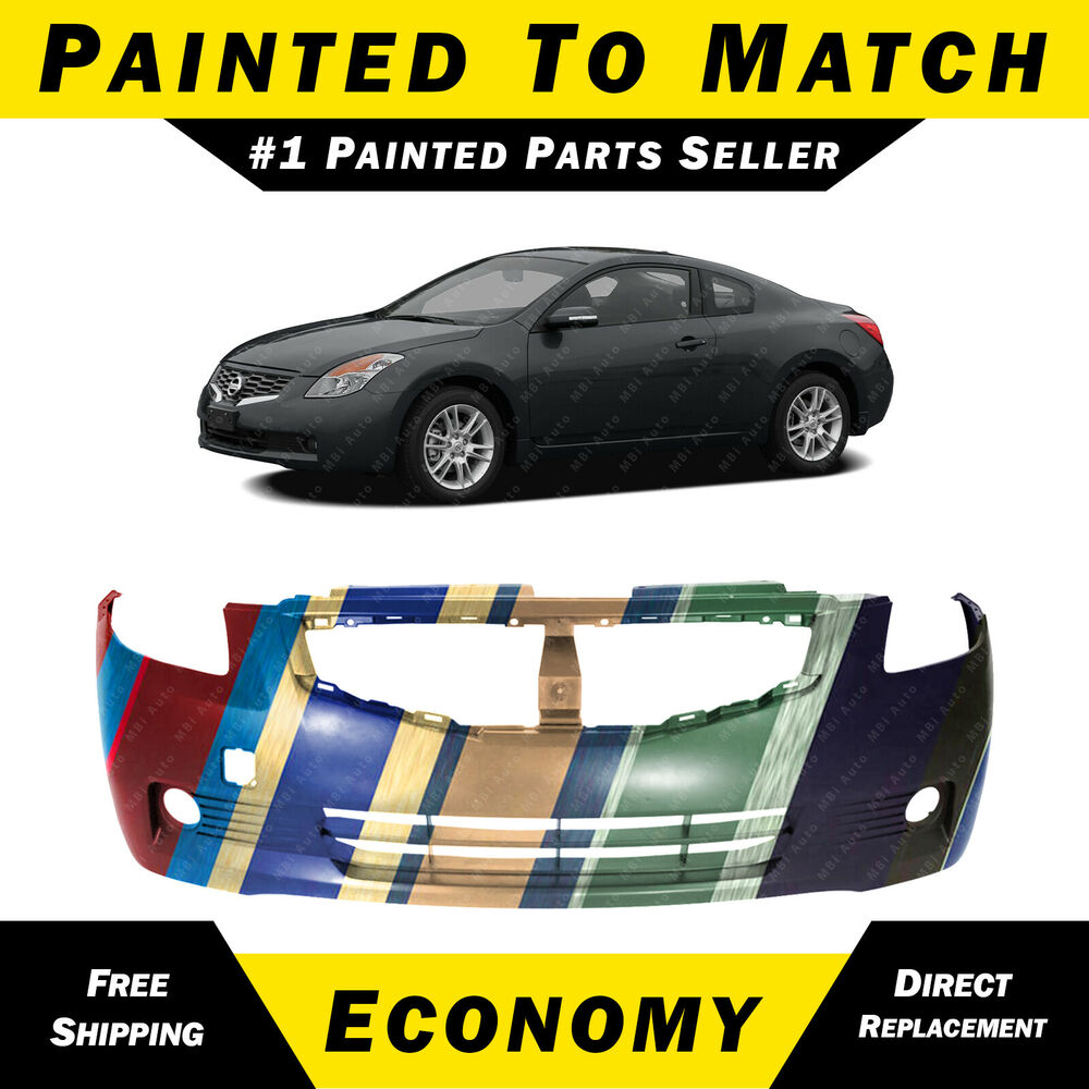 2 Door Altima >> NEW Painted To Match - Front Bumper Cover for 2008 2009 Nissan Altima 2dr Coupe | eBay