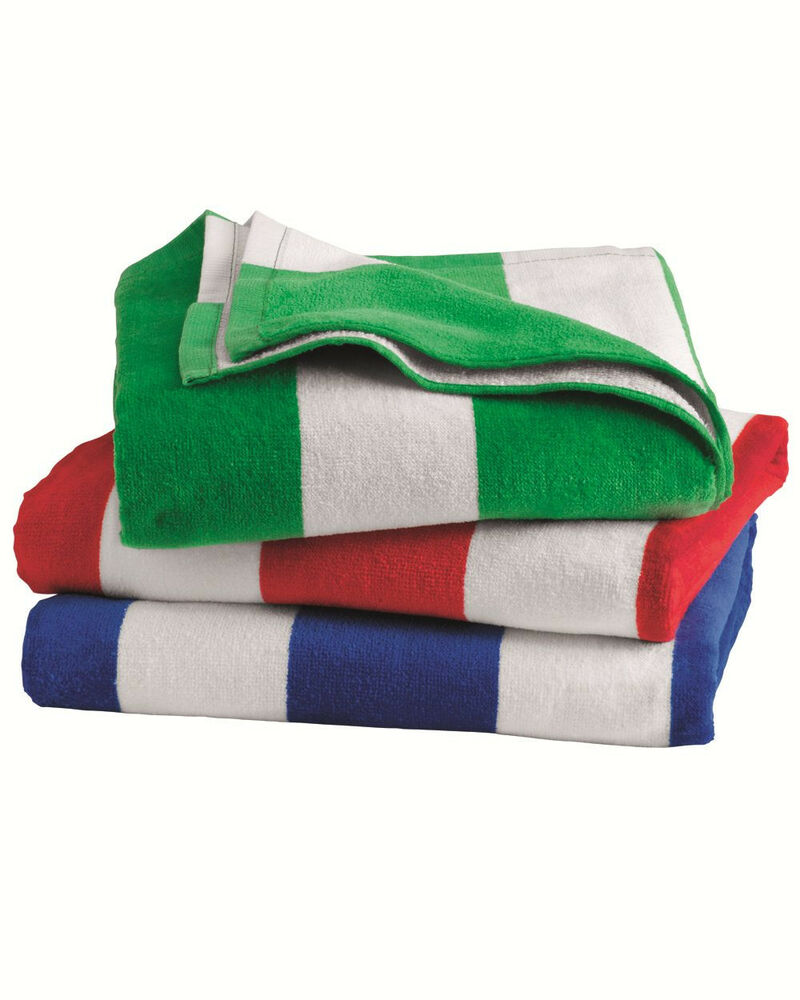 Cabana Stripe Velour Beach Towel 30 Quot X 60 Quot New Awesome