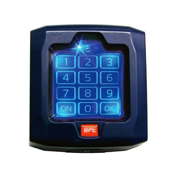 bft q bo touch wireless keypad for external gate automation use 71 7 ebay. Black Bedroom Furniture Sets. Home Design Ideas