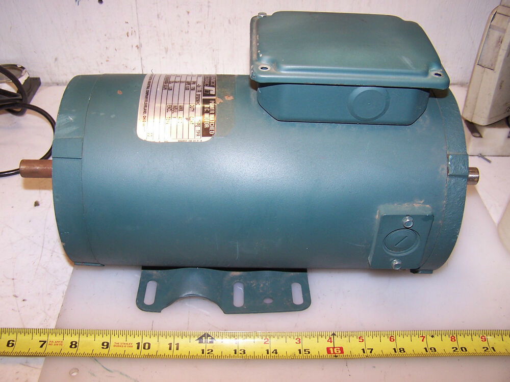 New reliance 3 4 hp dc electric motor t56s1023a 90 vdc for 90 volt dc motor