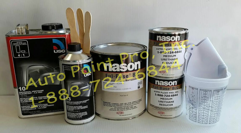 Auto Body Shop Paint Dupont Nason Black Cherry Met
