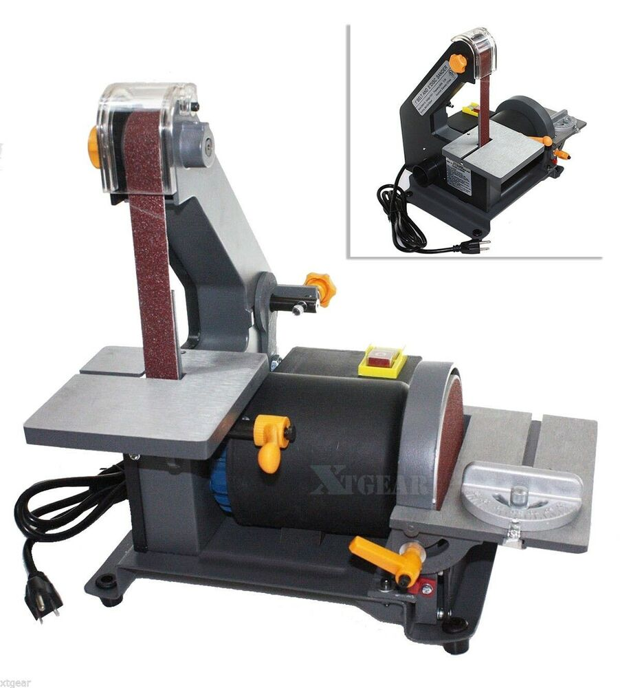 1 3hp 1 X 30 Belt 5 Disc Sander Bench Sanding Woodworking Top Wood Ul Ebay